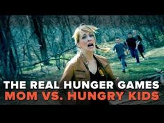 The REAL Hunger Games - Mom vs. Hungry Kids! - Pretty Darn Funny