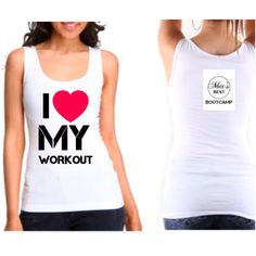 New tank top design - I ❤️ My Workout