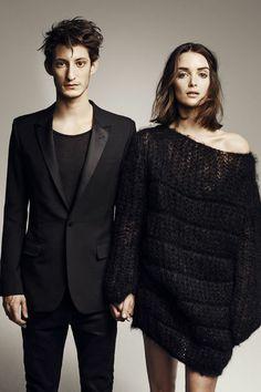 Yves Saint Laurent: Charlotte Le Bon et Pierre Niney posent pour L'Express Styles - L'Express