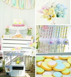 Cute as a button 1st birthday party full of ideas! Via KarasPartyIdeas.com - THE place for ALL things PARTY! #partyideas #partysupplies #buttonparty