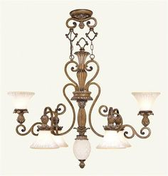 Savannah Chandelier (LVX-8476-57). Savannah - Chandelier - Venetian Patina - 41 L x 22 32.5 Product Specifications Fixture Type Chandelier Collection Savannah Finish Venetian Patina Glass Vintage Carved Scavo Dimensions 41 L x 22 32.5 Wattage 6 60.. . See More Chandeliers at http://www.ourgreatshop.com/Chandeliers-C1008.aspx