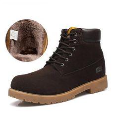 b1c856615b24ec Buy Men Suede Boots With Thick Warm Velvet