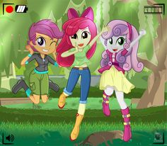 Jump and Smile! by charlieXe & TV My Little Pony Characters, My Little Pony Comic, My Little Pony Drawing, My Little Pony Pictures, Anime Characters, Sweetie Belle, Equestria Girls, Powerpuff Girls, Mlp Fan Art
