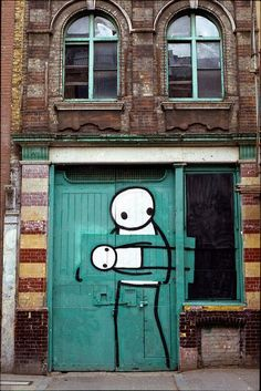 StraßenKunst, gut wenn sie der Stadt was zu sagen hat oder einfach zur ästhetischen Aufwertung.