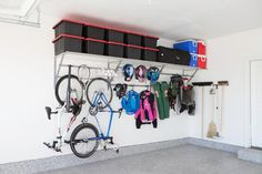 An organized garage is a happy garage. We can help make your garage the organization envy of the neighborhood!