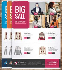 cool 18 Nice Product Sale Flyer Templates