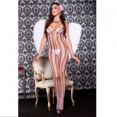 CATSUIT LUXE PINK/BLACK TALLA ÚNICA