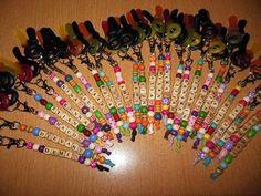 Bekijk de foto van christel-hendriks met als titel leuke traktatie! Sleutelhanger met snoepsleutels! en andere inspirerende plaatjes op Welke.nl.