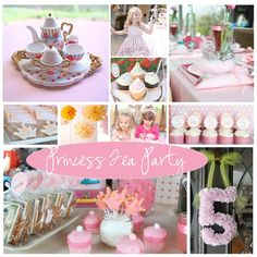 well....Princess tea party it is