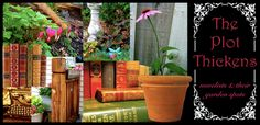 What a cool idea for a blog! The Plot Thickens is all about novelists and their garden spots. Check it out!