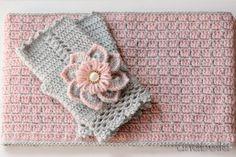 Crochet winter set by Anabelia