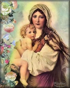 Oración para que Dios nos consuele cuando estamos desanimados #1 #love #God #losangeles #california #santacruz #fashion #moda #beauty #beautiful #travel #lady #florida #family #girls   #sanfrancisco #mexico #prayers #woman Mother Of Christ, Blessed Mother Mary, Blessed Virgin Mary, Jesus Christ, Hail Holy Queen, Queen Of Heaven, Sainte Marie, Mary And Jesus, Holy Mary