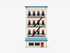 Building Animation by Calum Patrick