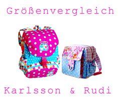 Ebook / Schnittmuster Kinderrucksack Karlsson