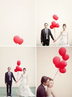 great series of wedding photos from #greenweddingshoes.com