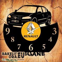 RENAULT MEGANE bakelit óra, saját rendszámmal, vagy felirattal (Scenic) - Meska.hu Movie Posters, Renault 4, Film Poster, Billboard, Film Posters