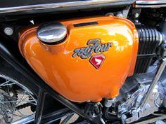 Honda 750, Old Bikes, Honda Motorcycles, Super Bikes, Cafe Racers, Reyes, Old Trucks, Bikers, Motorbikes