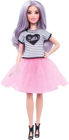 54 Barbie® Fashionistas Doll (Pink Tulle Skirt) PETITE