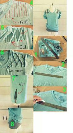 Reusing old Shirts | ecogreenlove