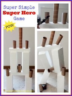 Super Simple Super Hero Game - pretend to be a super hero and help others