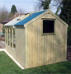 summerhouse greenhouse combined - Google Search