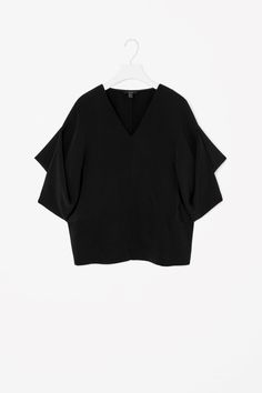 COS | Top with draped sleeves