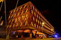 Buonanotte dal Padiglione Cile! #Expo2015  Good night from Chile Pavilion!