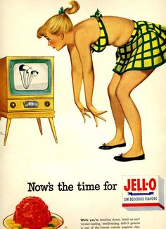 vintage  fit with television 1952 advertisement by FrenchFrouFrou, $14.95