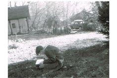 Jamie Wyeth sketching as a teenager