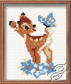 Little Deer - Cross Stitch Kits by RIOLIS - 210
