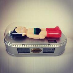 Vintage Astro Boy Birthday Countdown Clock (2003) #astroboy #tezuka #fatsumatoys #fatsuma #designertoy #tbt #vintagetoy