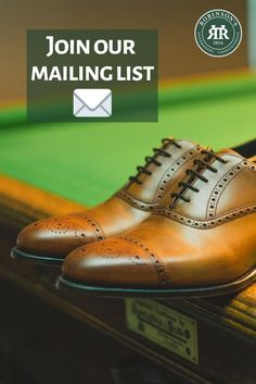 Subscribe to our mailing list! Keep up to date with our latest news, product launches and promotions. Sign up at the bottom of our homepage. #robinsonsshoes Visit Belfast, Robin, Sons, Oxford Shoes, Dress Shoes, Product Launch, My Son, European Robin, Robins