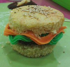 Cupcake hamburguesa