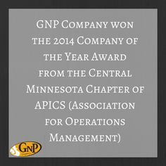 GNP leads by showing commitment in leadership and education in Operations Management. Join the flock today.