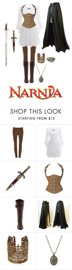 """""""Narnia"""" by wolfgirl0309 ❤ liked on Polyvore featuring Marc Jacobs, Alexander McQueen, KING, Sara Bencini and 1928"""