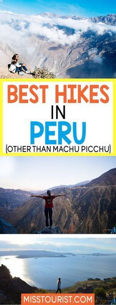 Peru is has more to offer than Machu Picchu. There are plenty more hikes worth your time without the crowds! Click to find out more beautiful hikes. #peru #southamerica ******************************************** Peru travel | South America travel destinations | Things to do in Peru | Peru hikes | Peru adventure