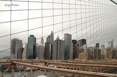 Cityline da ponte de Brooklin, Nova Iorque