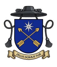 Revised Coat of Arms of Fr John Zuhlsdorf.