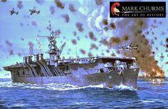 ww ii warship art | USN WWII Warships- More art prints - Click Me!