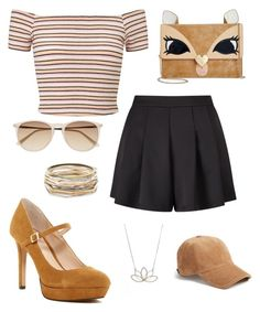 """Bambi"" by issiebop11 ❤ liked on Polyvore featuring Miss Selfridge, Vince Camuto, Nashelle, rag & bone, Kendra Scott, Betsey Johnson and Witchery"