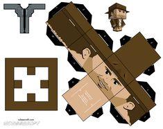Indiana Jones Cubeecraft (Part 1)