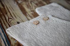 marcel.et.olaf Garter Stitch Baby Kimono de Joji Locatelli