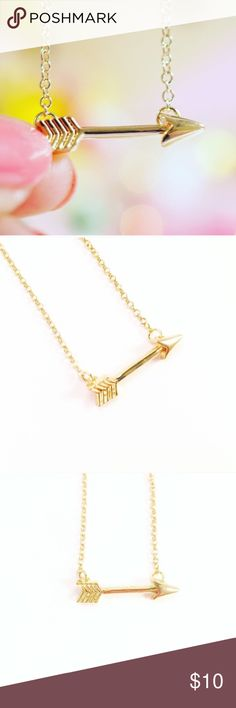 NEW Arrow charm necklace 20mm charm. Such a cute everyday necklace. Still in wrapping so it makes a great gift! Jewelry Necklaces