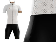Clean lines will meet classic black on black bib shorts on the Authentic cycling kit, tipped off with power band leg cuffs adorning the subtle pattern from the jersey. Classy, versatile, and stylis...