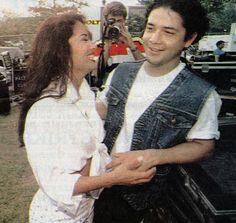 Selena and Chris Perez