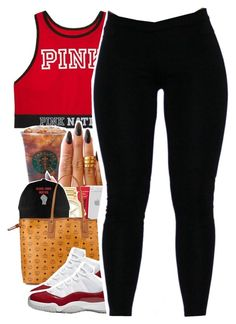 """""""August 5, 2016"""" by uniquee-beauty ❤ liked on Polyvore featuring Victoria's Secret, KEEP ME, Michael Kors and MCM"""