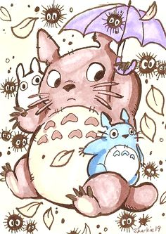 Totoro by sharkie19 on DeviantArt