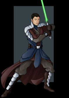 this is a commission i was asked to do for of his original star wars based character who he calls bram. Star Wars Characters Pictures, Star Wars Pictures, Star Wars Images, Jedi Cosplay, Jedi Costume, Star Wars Rpg, Star Wars Jedi, Character Portraits, Character Art
