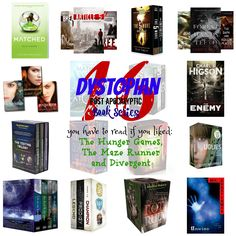 Dystopian Book Series you NEED to read #books