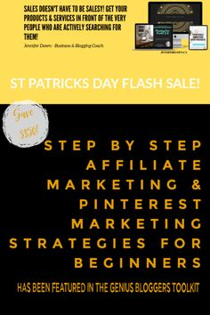 Save $350 for a very limited time on the Pinning For Profit Step by Step Affiliate Marketing Course for Bloggers & Entrepreneurs. Learn how to get your business in front of the very people who are actively searching for what you have to offer. Get targeted, organic traffic to your website and grow your email list with proven Pinterest Marketing strategies #marketingtips #affiliatemarketing #bloggingtips Marketing Strategies, Social Media Marketing, Affiliate Marketing, Email Marketing, Online Business, Business Tips, Creating A Business, Pinterest For Business, Email List
